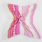 Dame Pink Stripe und Pentagram-Geometrie-Schal