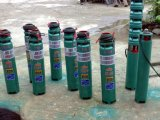 Bomba de agua sumergible vertical de alta presión gradual de receptor de papel profundo