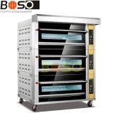 2-Deck 4-Pan Electric Oven Pizza Oven (BOS-F4)