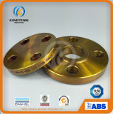 A flange revestida do Slip-on do aço de carbono A105 forjou a flange com TUV (KT0284)