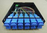 1u MPO Patch Panel für Sc, LC MPO Cassette