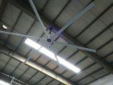 Ventilateur de plafond industriel diversifié à C.A. du seul de ventilateur de couverture de moteur modèle aérodynamique 7.2m (24FT) de pale