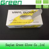Wegwerfsicherheits-schützende Vinylhandschuhe (ISO, CER bescheinigt)