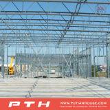 Edelstahl bedeckt Fertighaus-Stahlgebäude