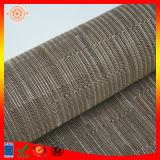 Brown PVC-Wärme geschütztes nicht Beleg gesponnenes Vinyl Placemats