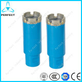 Deep Drilling Concrete를 위한 놋쇠로 만들어진 Diamond Core Drill Bits