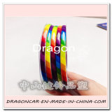 新しいPVC Chrome 4mm Car Decoration Car Strip Line Car Body Sticker