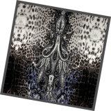 Sciarpa della signora Fashion Printed Square Silk (DS13-01)