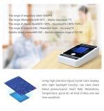 장과 NIBP & SpO2 탁상 참을성 있는 모니터 장치 (기능 떨어져 센서에)