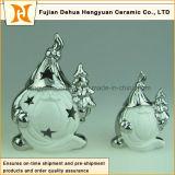 Decorações cerâmicas do Natal do bravo do produto novo feitas em China
