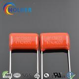 Condensatore metallizzato della pellicola di Ploypropylene (CBB22 474/400)