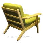 Café Moderno Ocio Hans Wegner tabla de madera Una plazas sofá