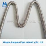 Tubo acanalado del metal del acero inoxidable SUS304