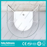 Portas dobro circulares da porta de Hinger que vendem o cerco simples do chuveiro (SE713C)