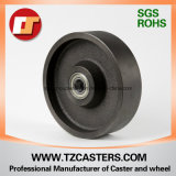 4, 5, 6, 8inch Cast Iron Wheel com Roller Bearing