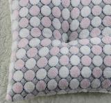 De PUNT Afgedrukte Polyester die van de Vacht van het Flanel Decoratief Kussen vullen