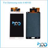 Малая индикация экрана LCD для панели касания примечания 4 галактики Samsung