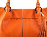 De uiteindelijke Handtas van het Leer van de Manier Modieuze Oranje