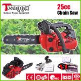 25.4cc Gasoline Chain Saw avec du CE, GS, Euro II Cerificate