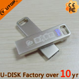 hot Company 로고 소형 금속 USB 섬광 드라이브 (YT-3295-03L)