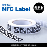 Papel revestido adhesivo NTAG216 ISO14443A de la etiqueta 13.56MHz de NFC