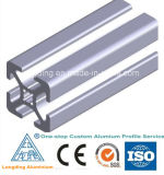 Aluminium expulsé encadrant la pièce jointe en aluminium expulsée