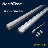 Eficiência clara fluorescente T5 24W da câmara de ar 110lm/W do diodo emissor de luz