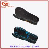 Верхняя продавая подошва пляжа Outsole сандалий лета напольная с ЕВА и материалом Rb