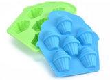 Moulage formé neuf de silicones de moulage de gâteau de crême glacée de qualité, moulage de gâteau de fondant
