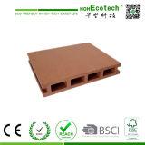 Cavité et Grooved Composite Decking Flooring WPC Board