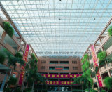 Высокое офисное здание ферменной конструкции крыши стальной структуры подъема