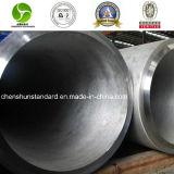 Pipe soudée sans couture d'acier inoxydable de solides solubles 304/1.4301 (316L/321/347)