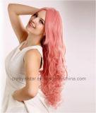Flaumige moderne Perücke des lockigen Haar-neue 2016