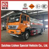 Caminhão de petroleiro do combustível de Rhd 4X2 Sinotruk 12000L