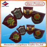 Goldzeichen MDF-Preis-hölzerne Plakette in China kundenspezifisch anfertigen