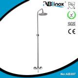 Cabeça de chuveiro do aço inoxidável de Ablinox