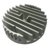 Dissipadores de calor de alumínio da iluminação do diodo emissor de luz com giro do CNC da precisão