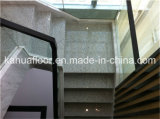 Поручень лестницы самомоднейшего способа стеклянный деревянный