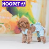 Платье белых многоточий голубое для одеяния собаки и любимчика ультрамодного