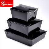 Caja caliente china de papel aislada disponible del alimento