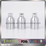De lege Fles van het Aluminium met het Poeder GLB van het Metaal
