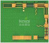 Itinerario esterno di legno del campo da giuoco uno di Kaiqi in pieno di varie attività di avventura (KQ60086A)