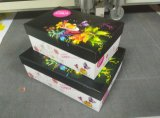 Vier Farbe gedruckter Papierkasten-Geschenk-Kasten-verpackenkasten