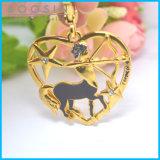 12 constelações da venda por atacado chapeada ouro do pendente do Sagittarius