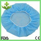 Protezione rotonda non tessuta a gettare della protezione della protezione Bouffant dell'infermiera