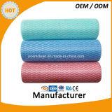 Устранимые ткани чистки домочадца Spunlace Non сплетенные/Non-Woven сухие Wipes