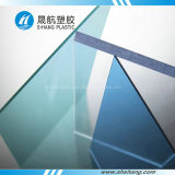 Polycarbonate transparente Solid Sheet con Protection ULTRAVIOLETA