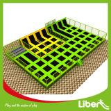 Parque interno profissional do Trampoline de Liben com Dodgeball