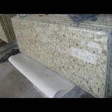 Верхние части кухни орнаментального гранита Giallo традиционные