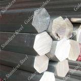 明るい304 316 201ステンレス鋼固体棒(円形の正方形の平らな長方形の六角形)